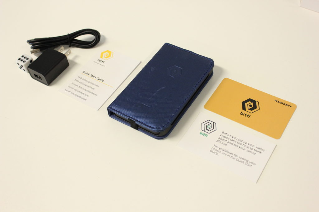 Bitfi Knox wallet and components