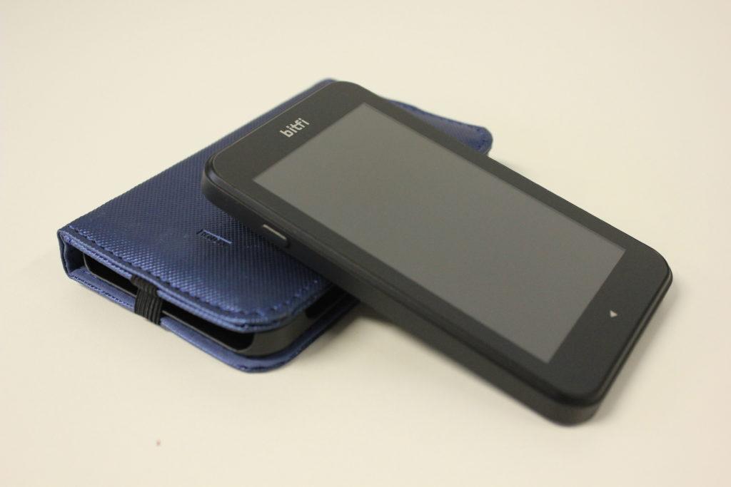 Bitfi Knox wallet and case