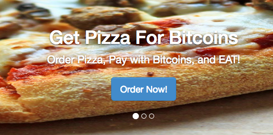 buy pizza with bitcoin and 49 cryptocurrencies