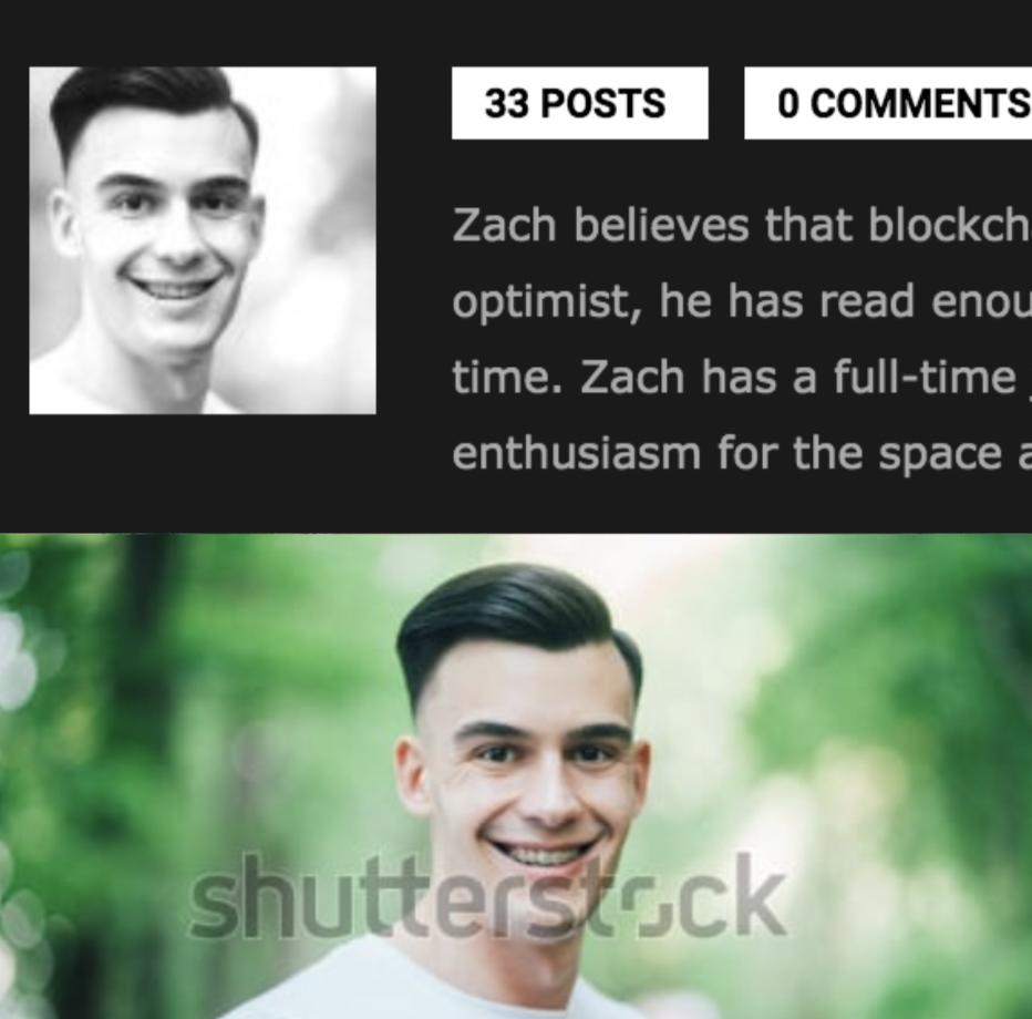 'Zach' vs. Shutterstock