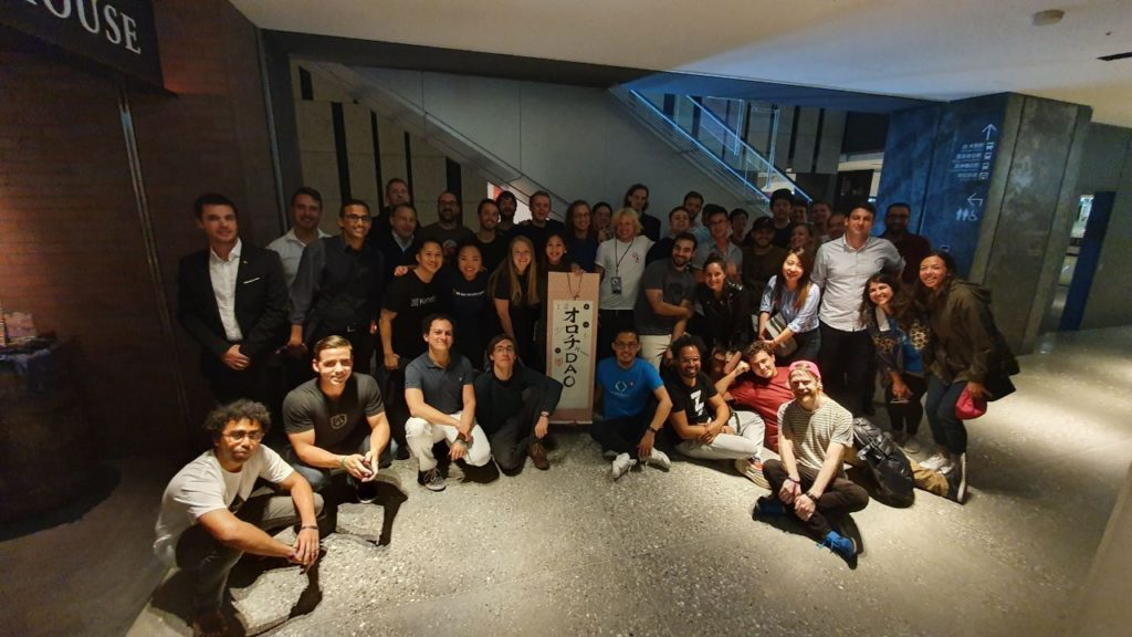 Orochi DAO whisky tasting event