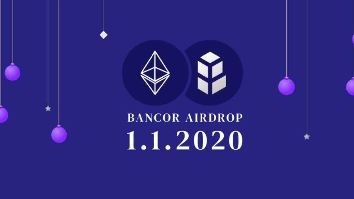 Bancor cryptocurrency airdrop set for New Years Eve