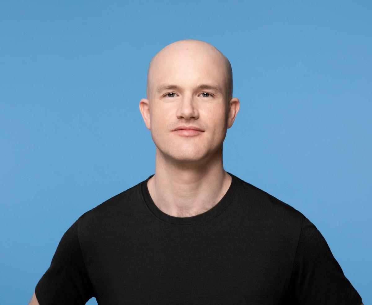 Brian Armstrong, CEO da Coinbase. Imagem: Coinbase
