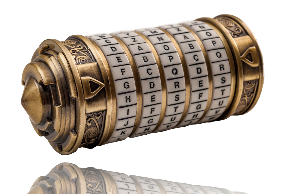 A traditional form of cryptography